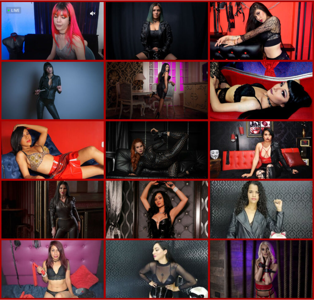Live mistress cam sissification training chat
